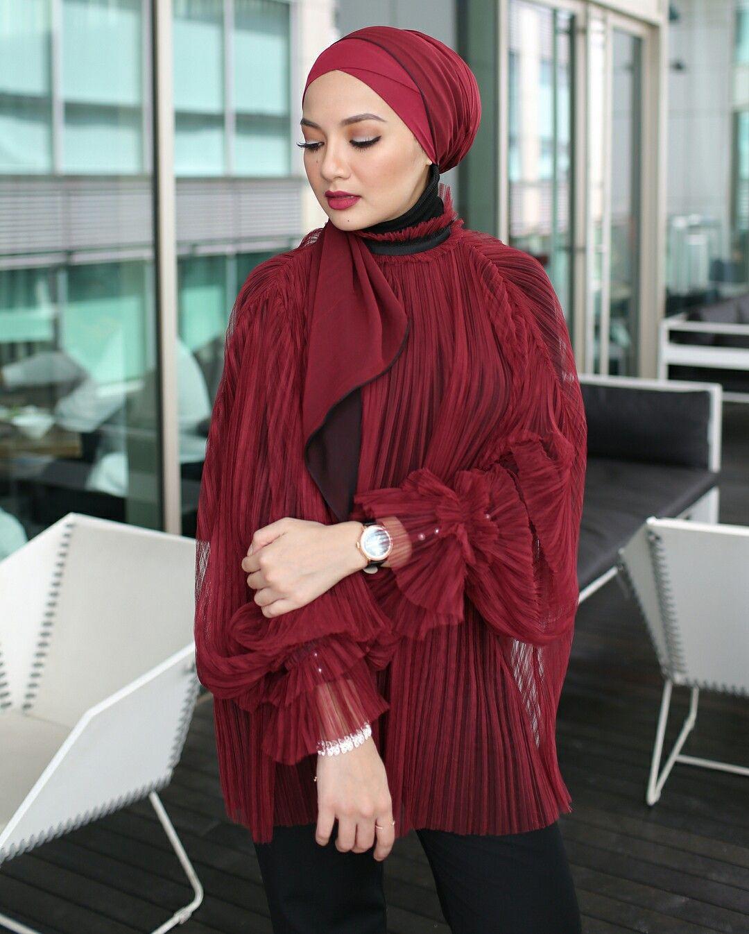 Image result for neelofa wear turban