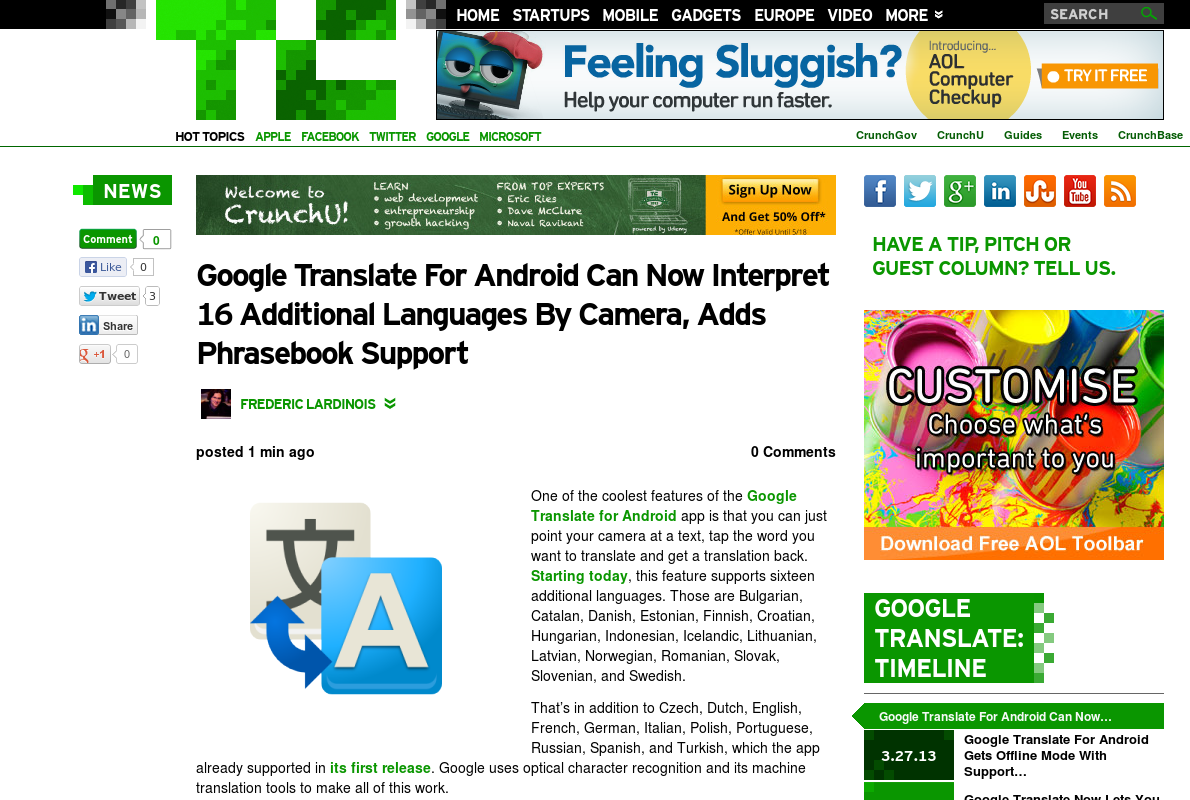 http://techcrunch.com/2013/05/08/google-translate-for-android-can-now-interpret-16-additional-languages-by-camera-adds-phrasebook-support/ ... | #Indiegogo #fundraising http://igg.me/at/tn5/