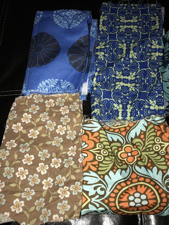 Fabric Scraps Bundle Quilting Fabric Craft Fabric Bag 12