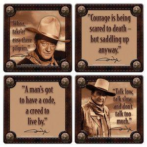 John Wayne Quotes Collectibles Ebay John Wayne Quotes Birthday Man Quotes John Wayne