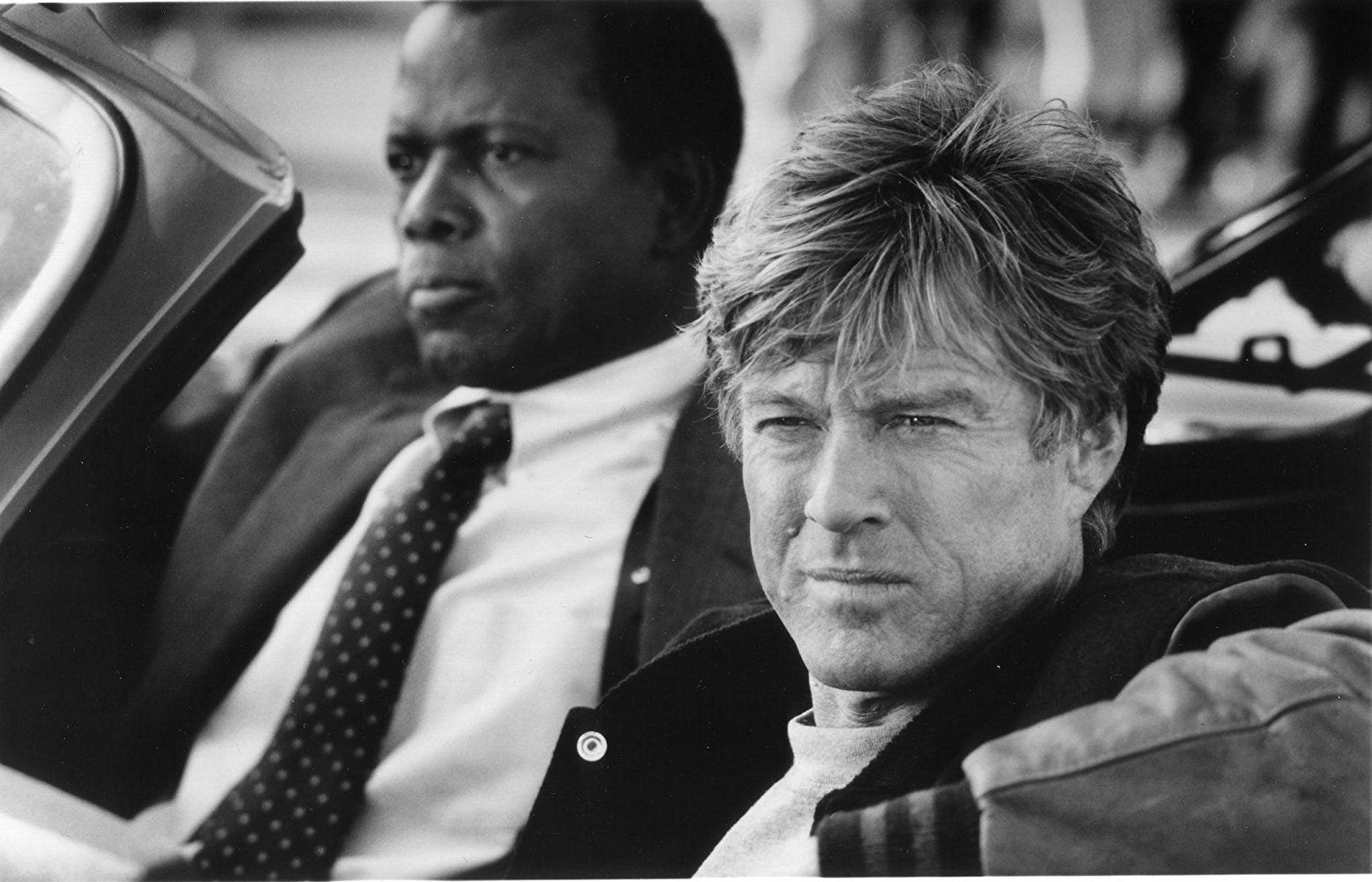 Robert Redford and Sidney Poitier in