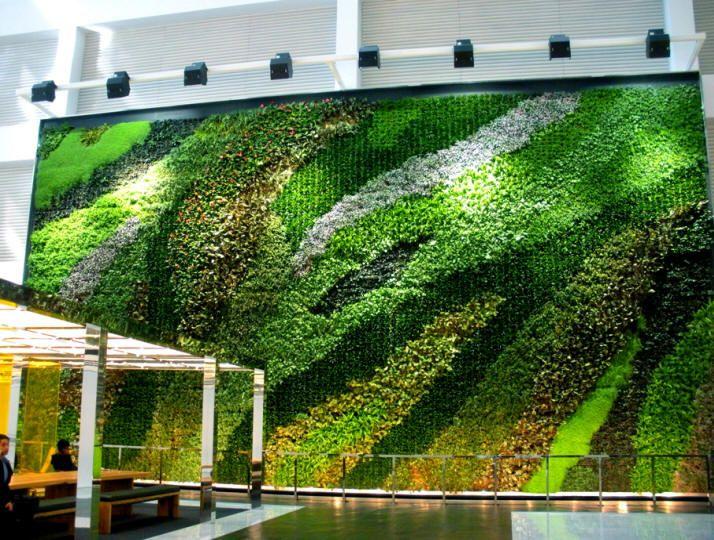 Conexión De La Planta, Inc. Anuncia Patentado G O2 ™ Wall System Living