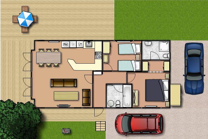 Home Design 20 X 40 Part - 24: 20 X 40 House Plans - Google Search
