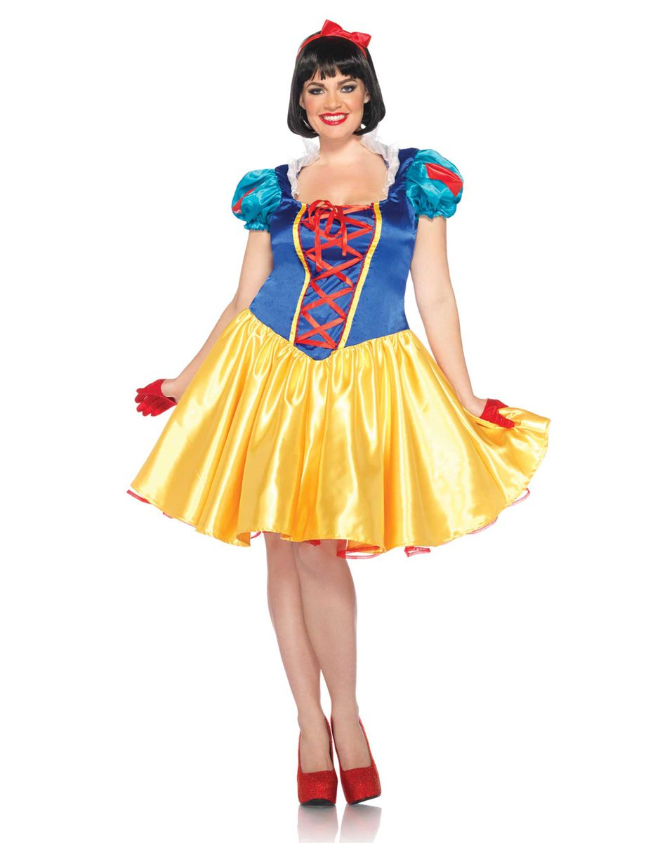 Disney Princess Snow White Adult Womens Plus Size Costume – Spirit Halloween 468be9a24