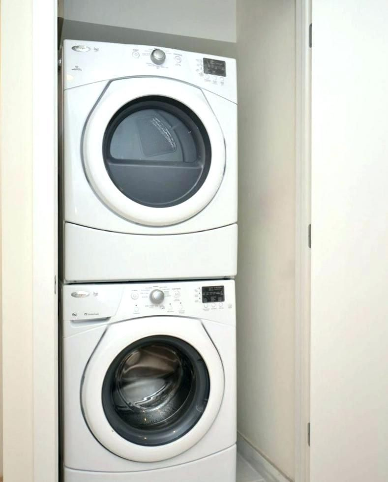 Sears Compact Washer And Dryer In 2020 Laundry Room Storage