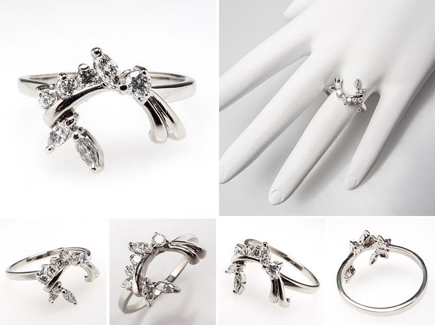 Show Your Engagement Ring Wraps And Guards 2 Engagement rings or