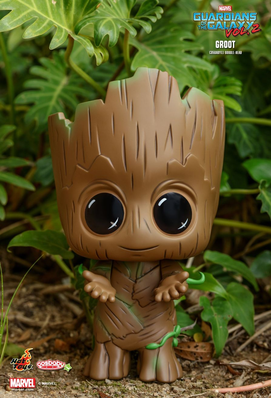 Hot Toys : Guardians of the Galaxy Vol. 2 - Groot Cosbaby Bobble-Head