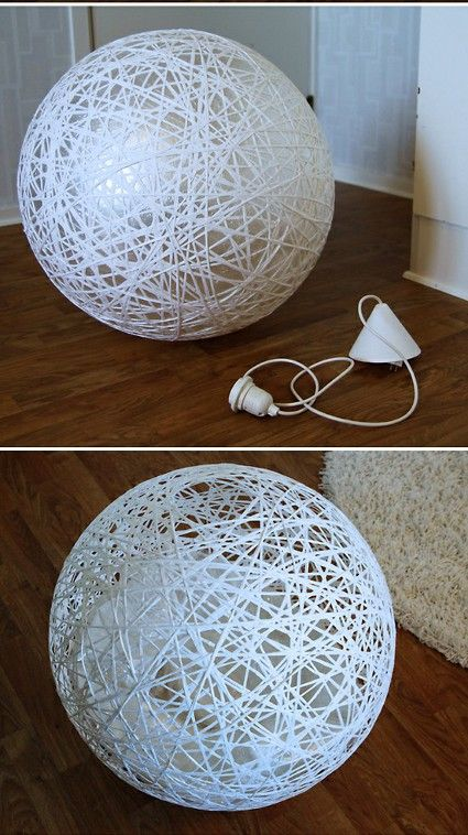 Una lámpara casera con mucho estilo Decoración de