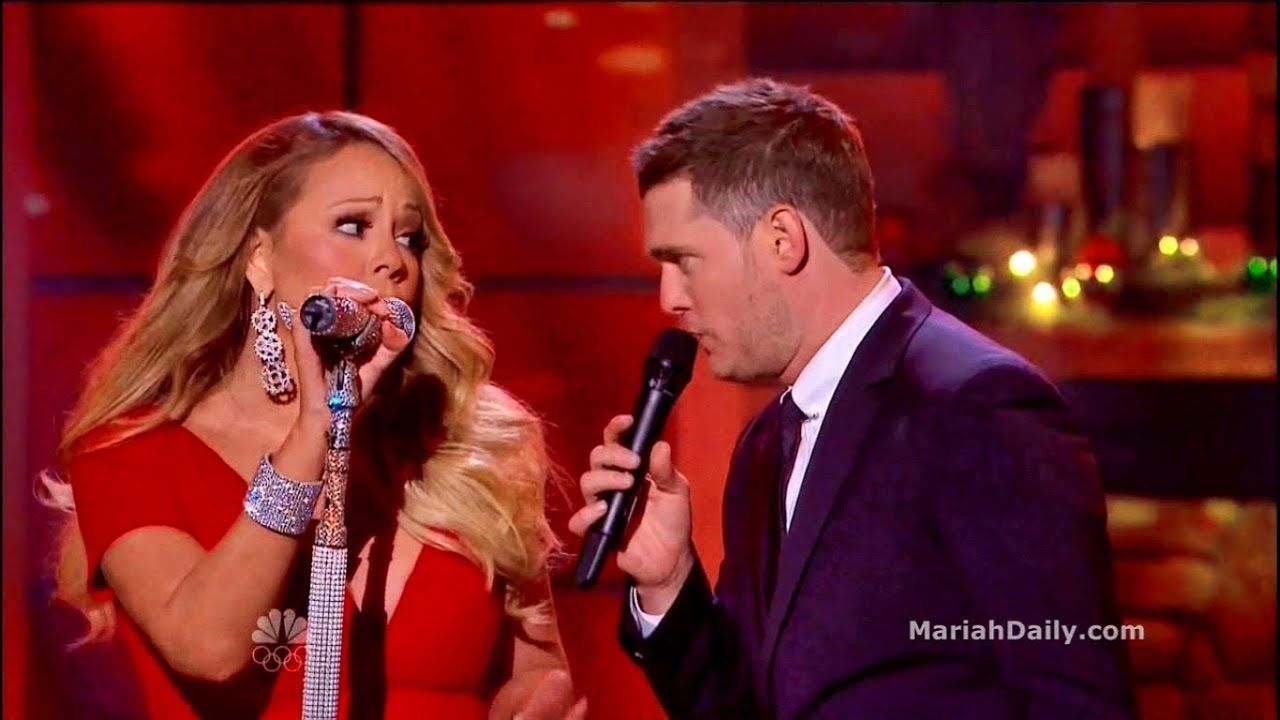 Mariah Carey All I Want For Christmas Is You Duet With Michael Buble Michael Buble Christmas Michael Buble Mariah Carey Music