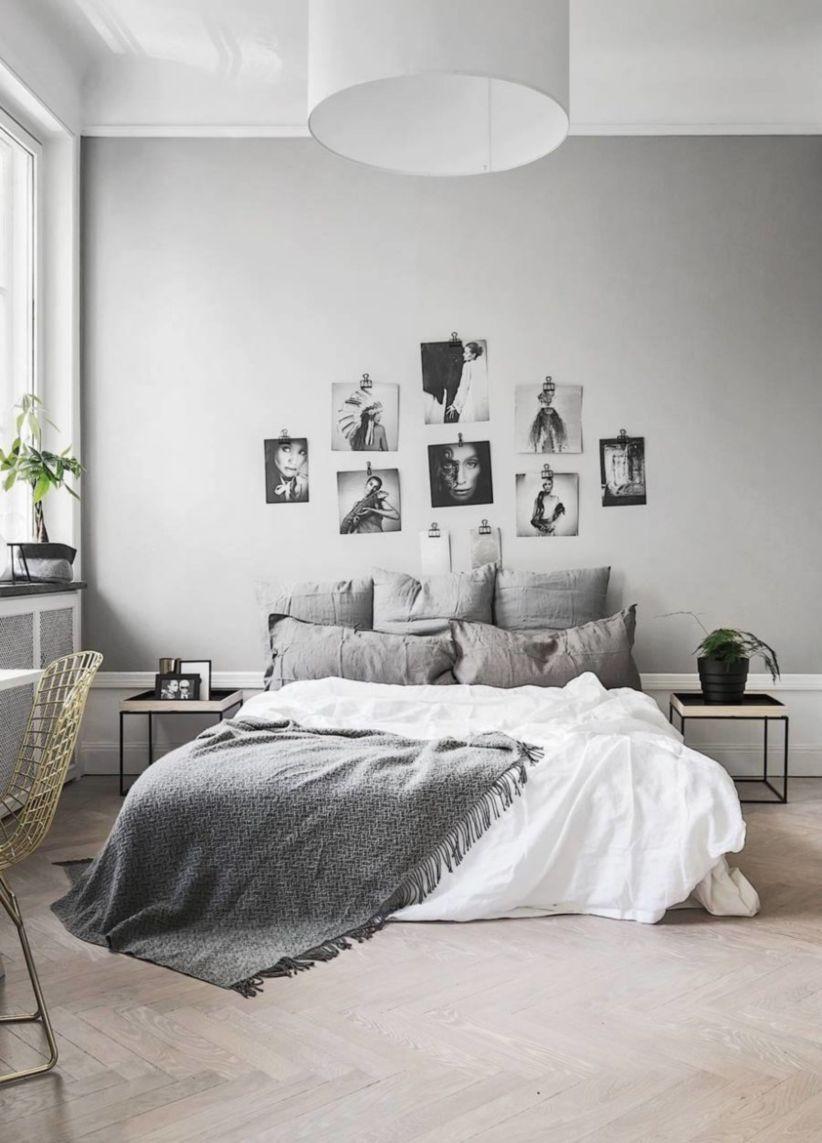 awesome 44 Simple and Minimalist Bedroom Ideas ... on Minimalist Modern Simple Bedroom Design  id=98227