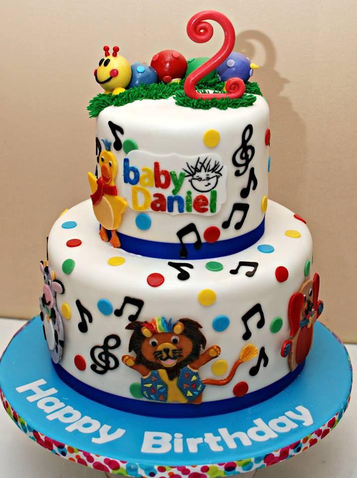 Baby Einstein Cake With Images Baby Einstein Party Birthday