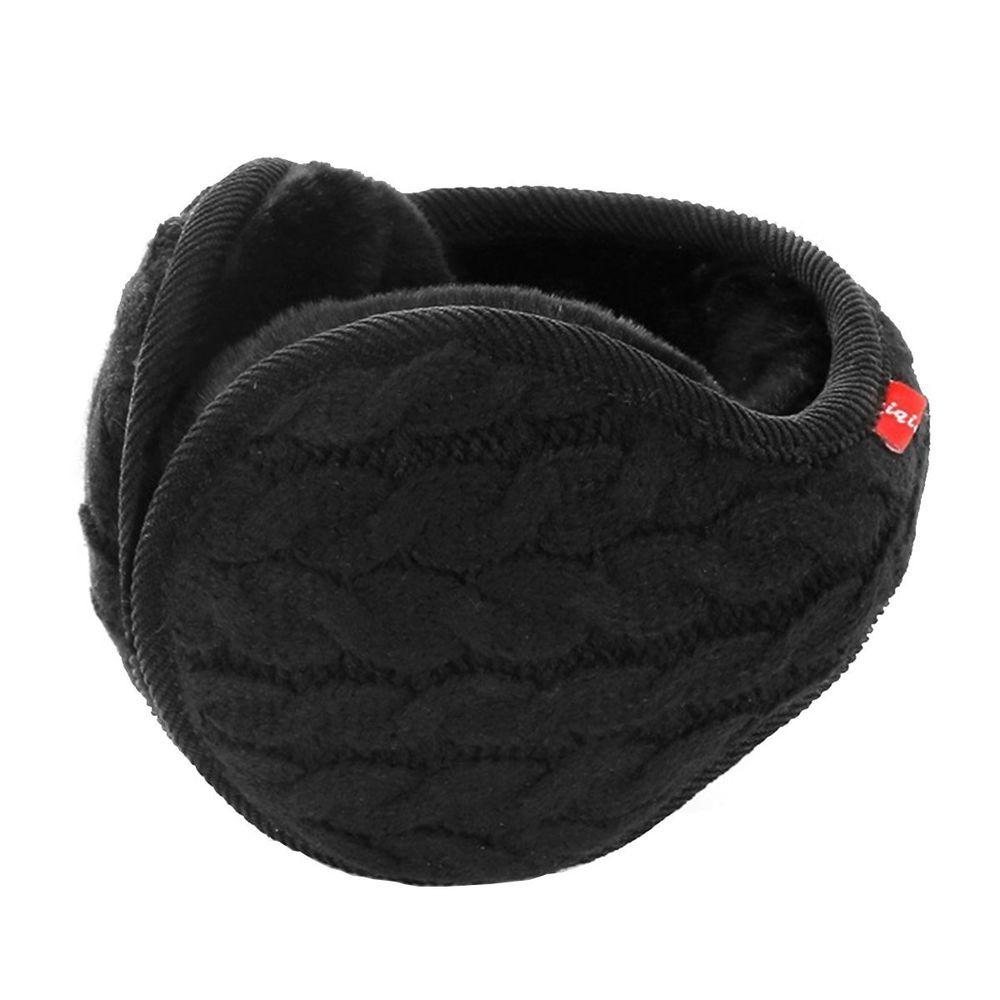 f47e640c9e1 Snow Earmuffs Fur Ear Warmer Unisex Warm Knit Cashmere Frozen Winter ...