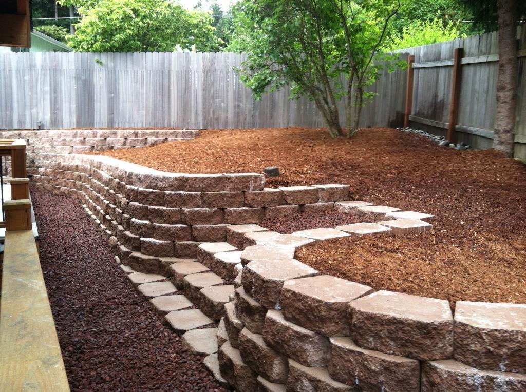 Concrete Retaining Wall Blocks Home Modern Decors In 2020 Concrete Retaining Walls Cinder Block Garden Wall Cinder Block Garden