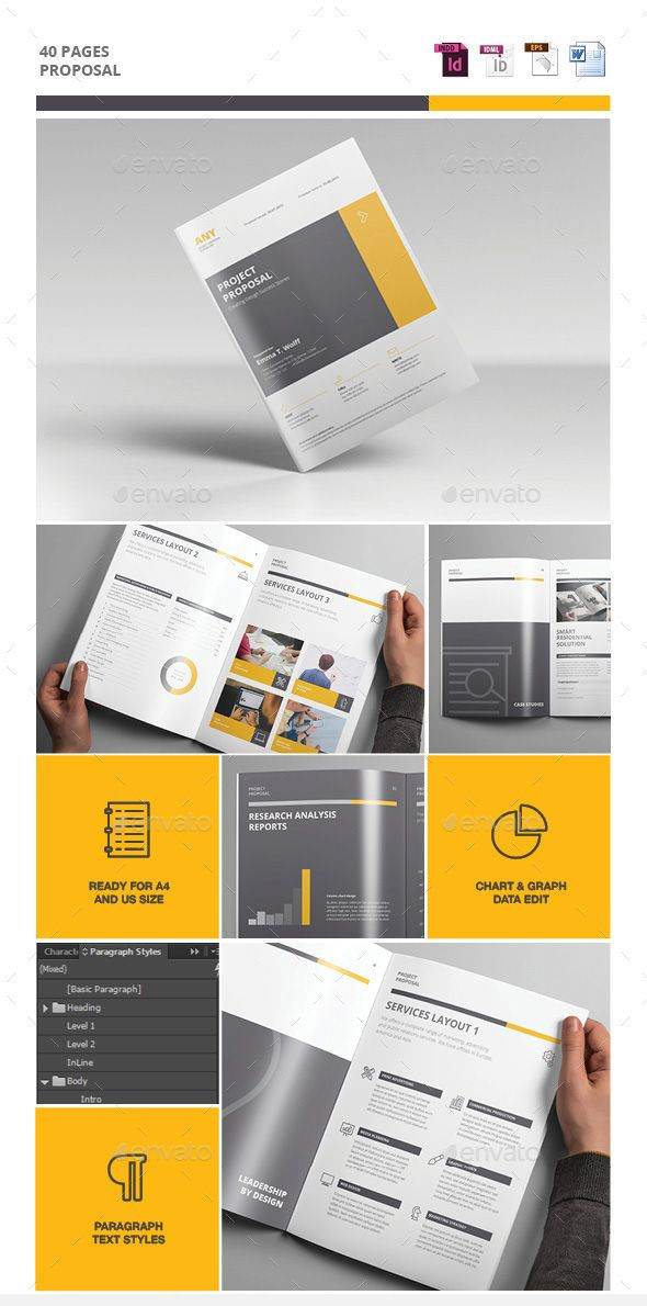 Project Business Proposal Template Things To Learn Pinterest