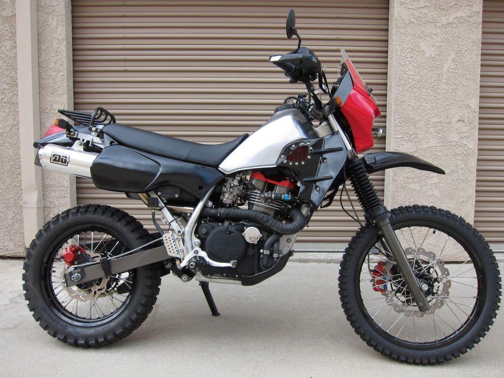 Amazing custom built KLR.