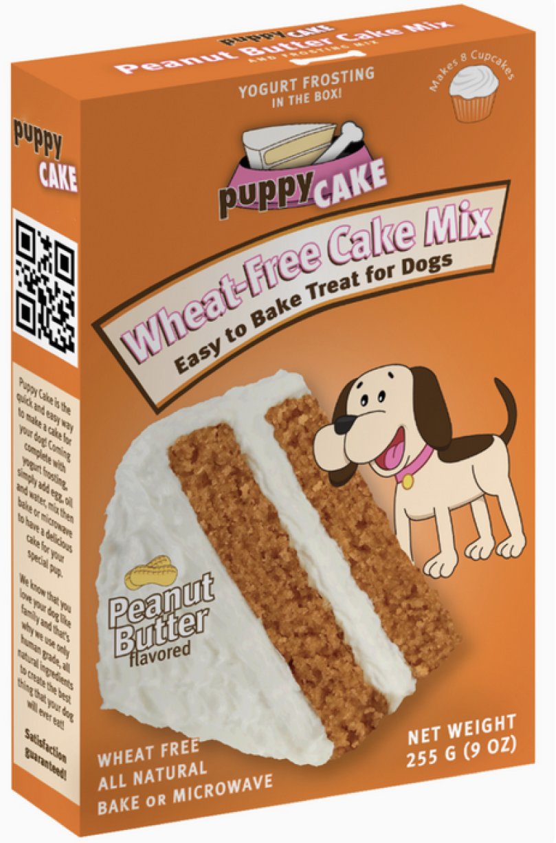 Dog Birthday Cake Mix Peanut Butter Flavor