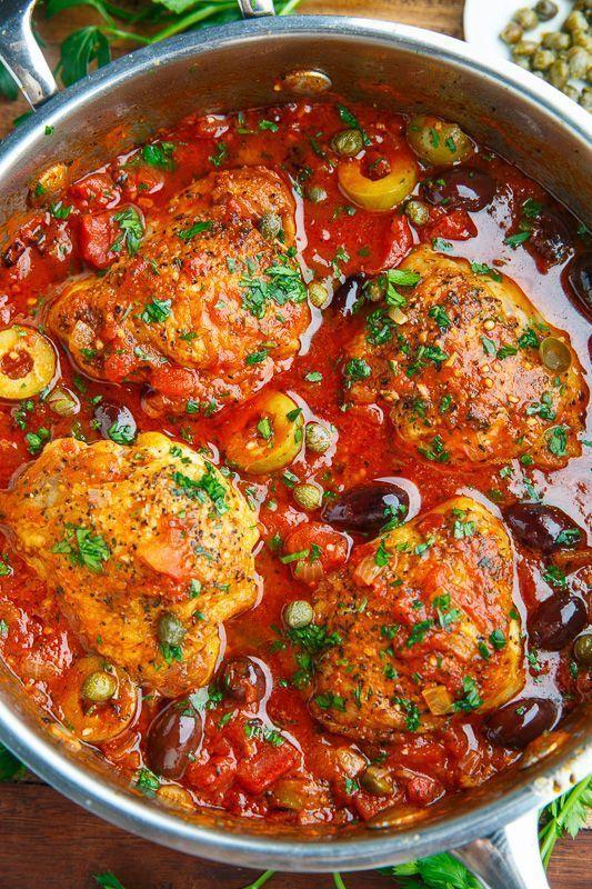 Photo of Chicken Puttanesca Recipe