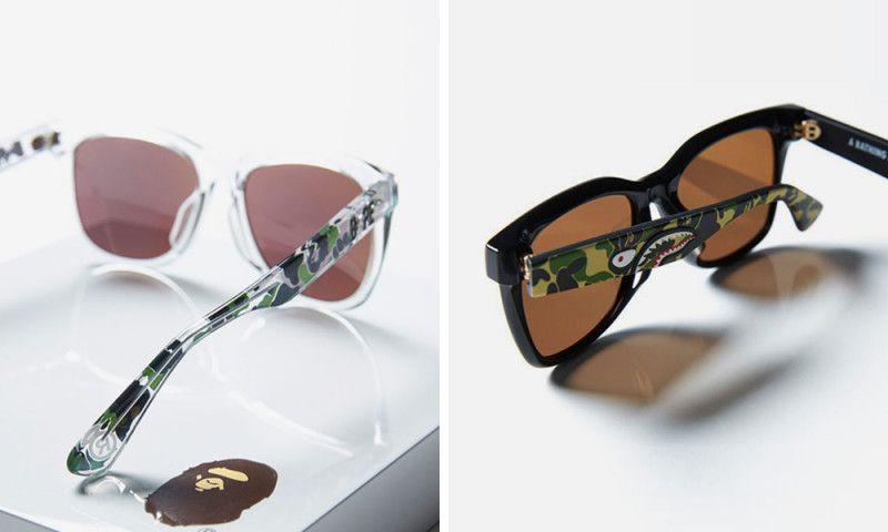 04f260ac97 BAPE   ic! Berlin s Sunglasses Gives You Camo Vision