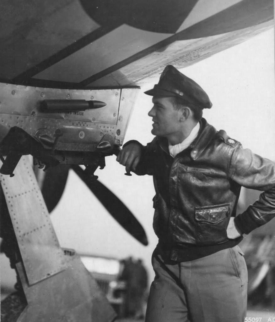 9th AF P-47 Pilot Lt. Col. John R. Murphy