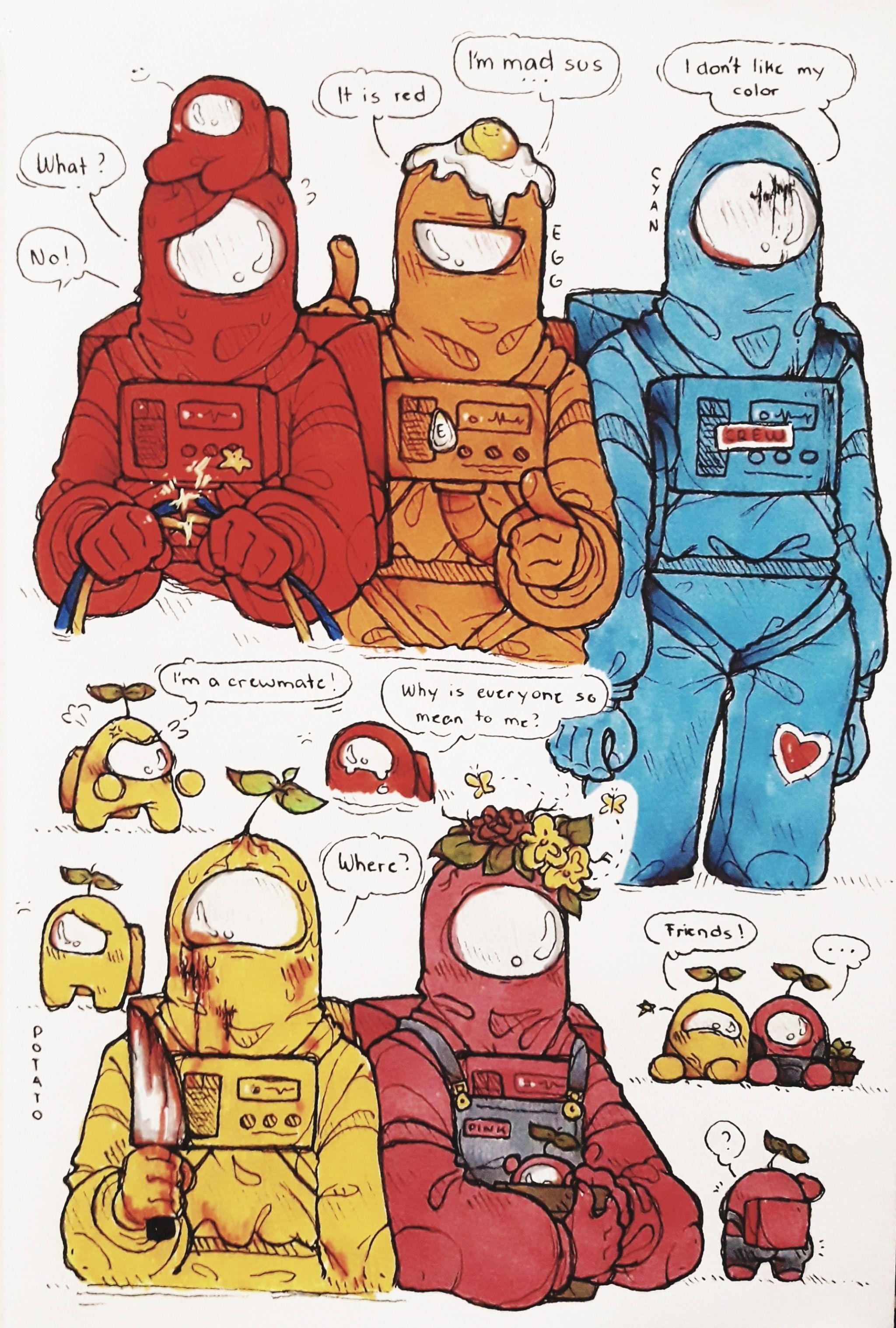 Pin By Maike P On Among Us In 2020 Cute Art Character Design Animation Cute Comics Among us memes запись закреплена. pinterest