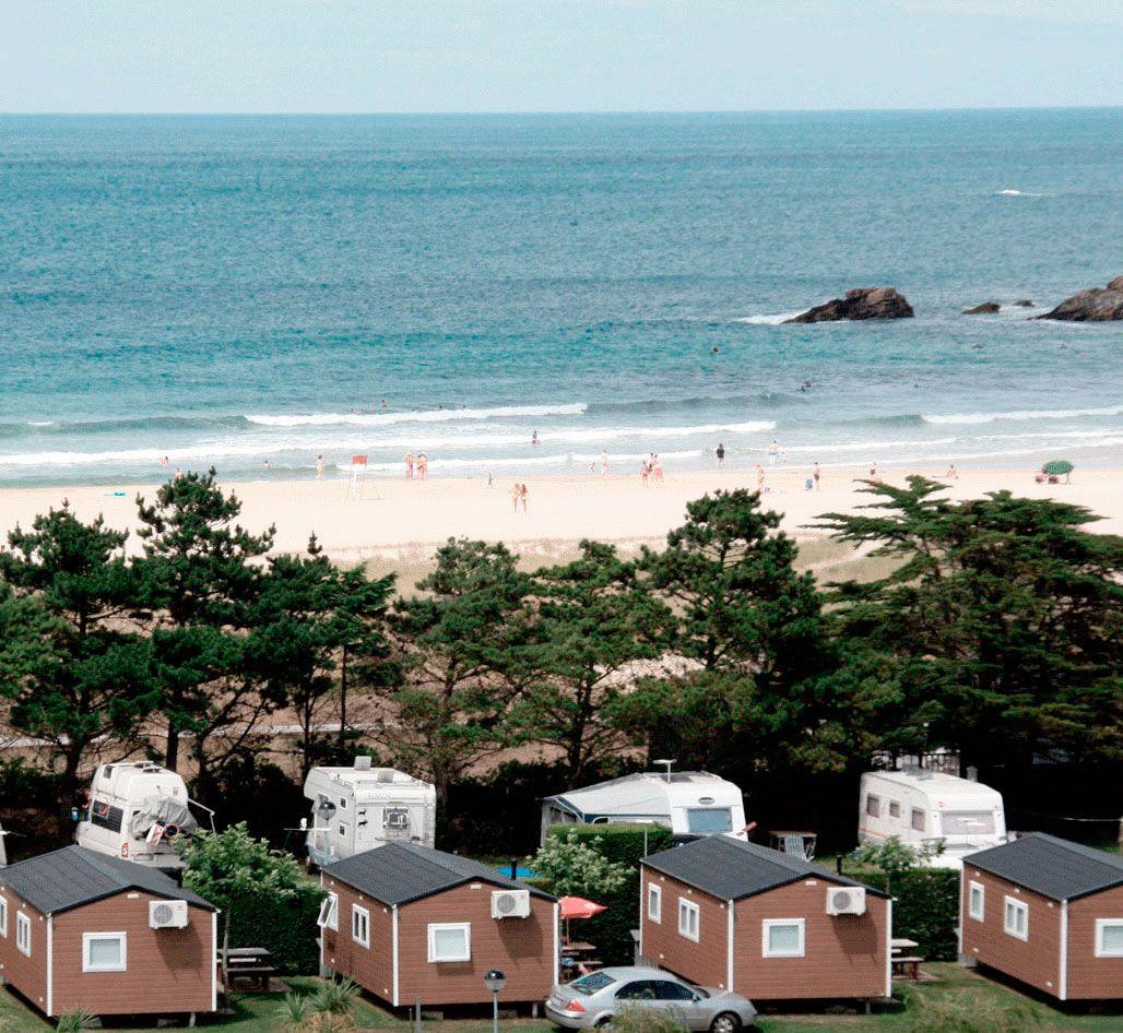 Camping Playa Penarronda Camping Asturias Castropol Lugares Hermosos Bungalows Piscinas