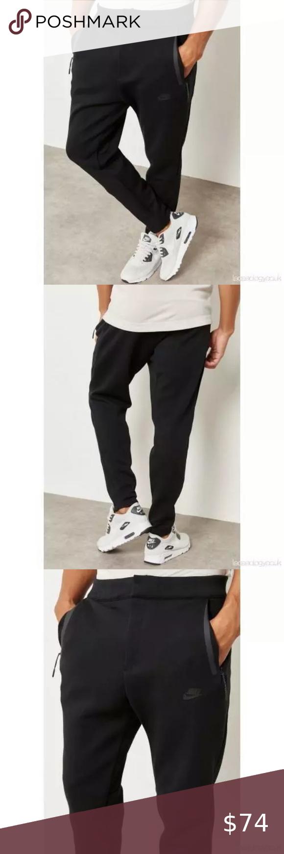 Nike Sportswear Tech Fleece Men's Pants Black in 2020