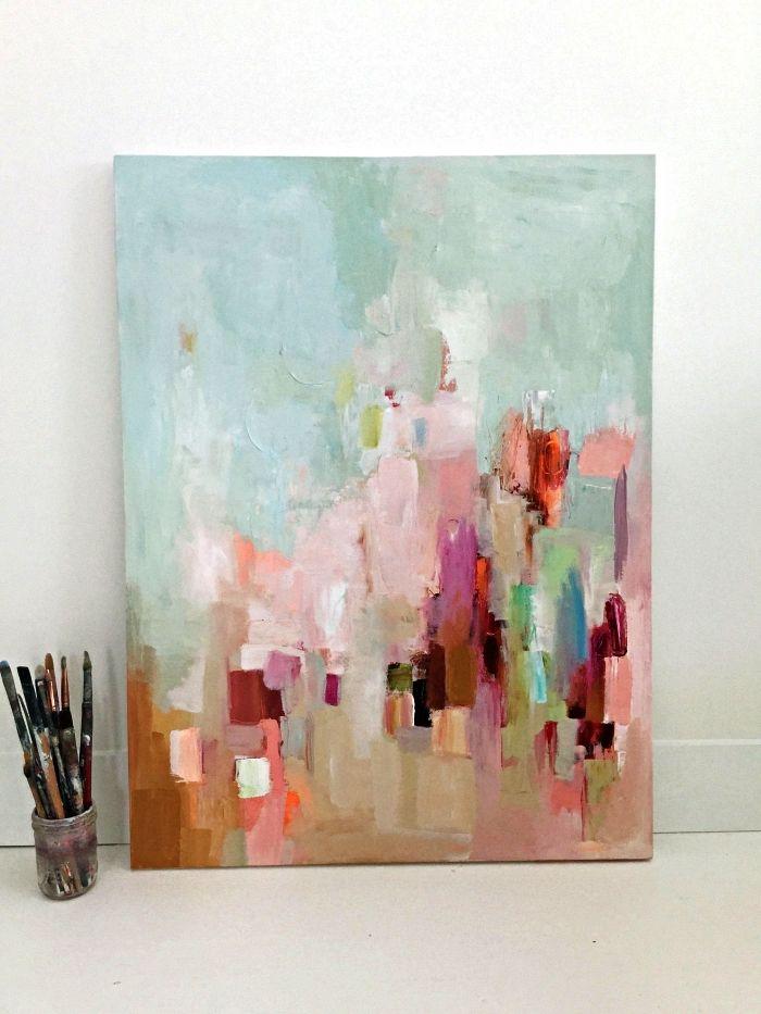 ▷ 1001 + idées et techniques de base pour débuter la peinture acrylique
