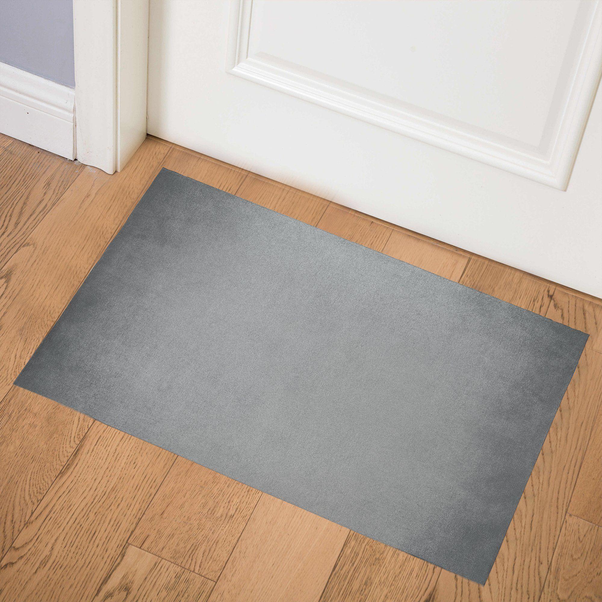 OMBRE GREY Indoor Floor Mat By Marina Gutierrez - 4ft x 6ft