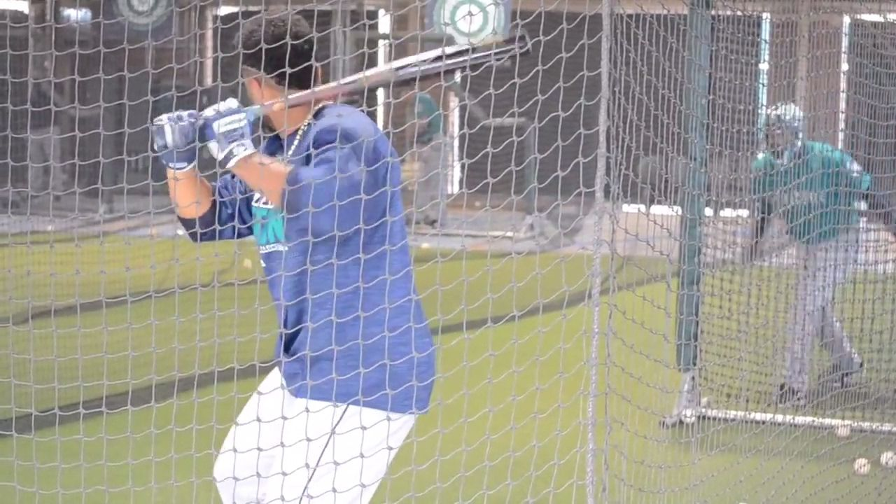 Cano, Cruz & Segura Batting Practice Seattle Mariners
