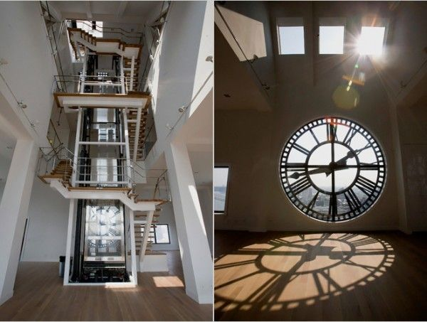 Brooklyn Tower Clock With