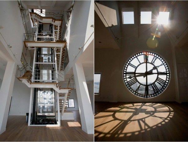 Brooklyn Tower Clock Architecture Interiors
