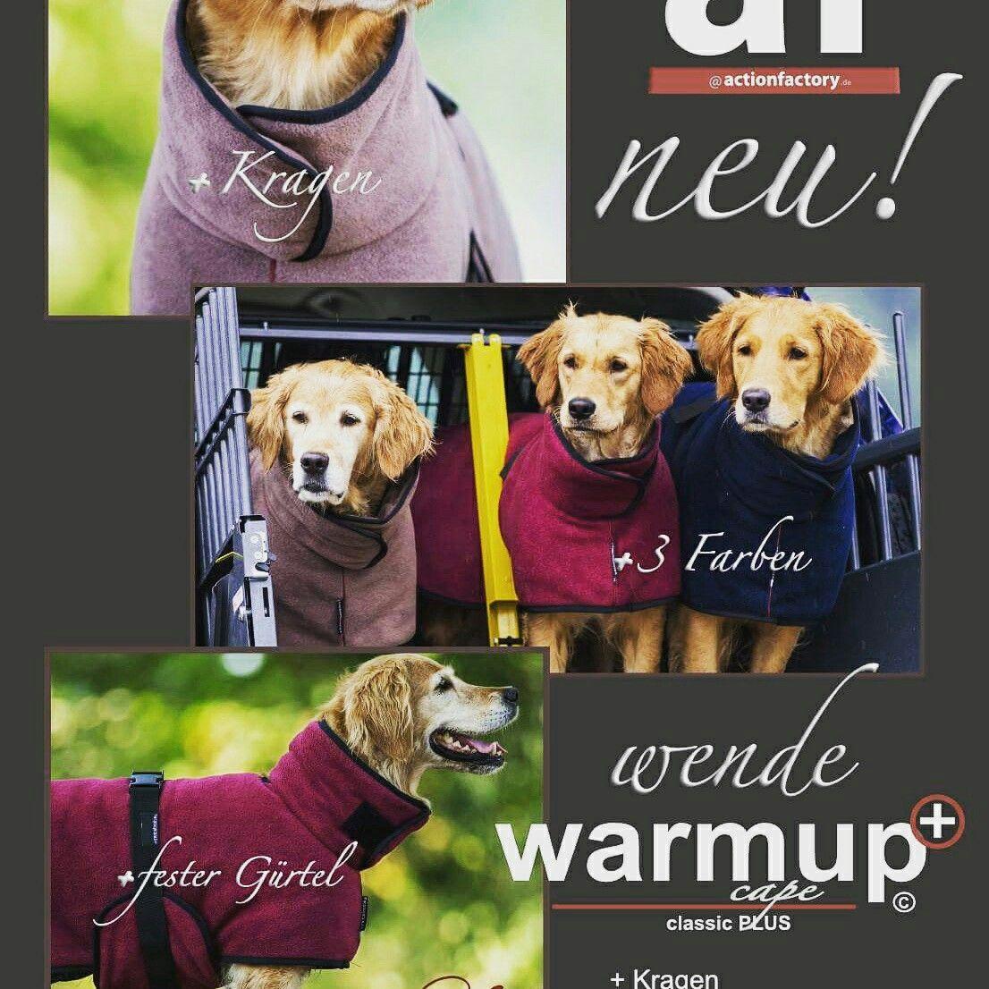 Der Warmup+ *2Funktionen vereint in einem tollen Design* www.pfotenshop-sellmecke.de #hundemantel #hunde #hundezubehör #hundebademantel