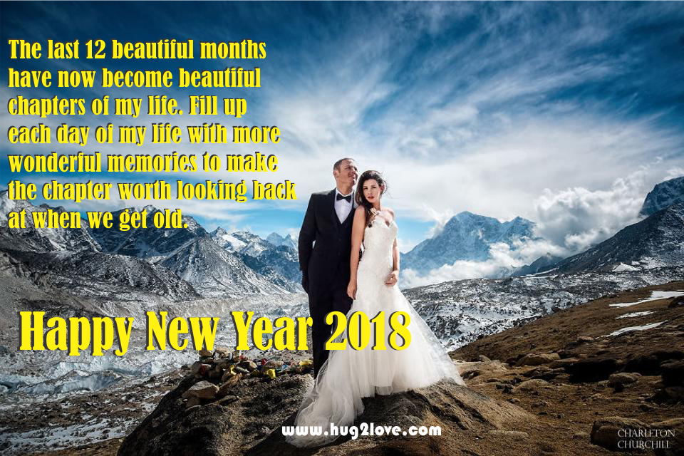 2018 new year wishes to boyfriend or husband