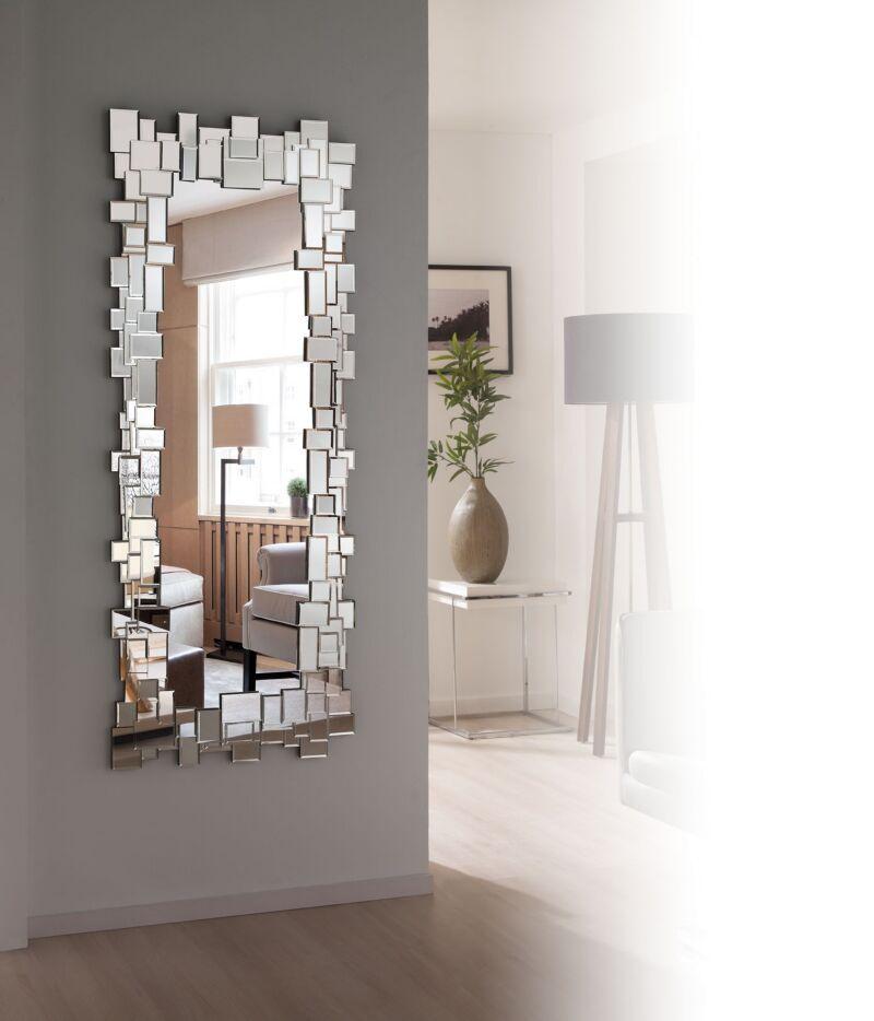 Pin de madelin paulino en my house pinterest espejo for Espejos para pared grandes sin marco