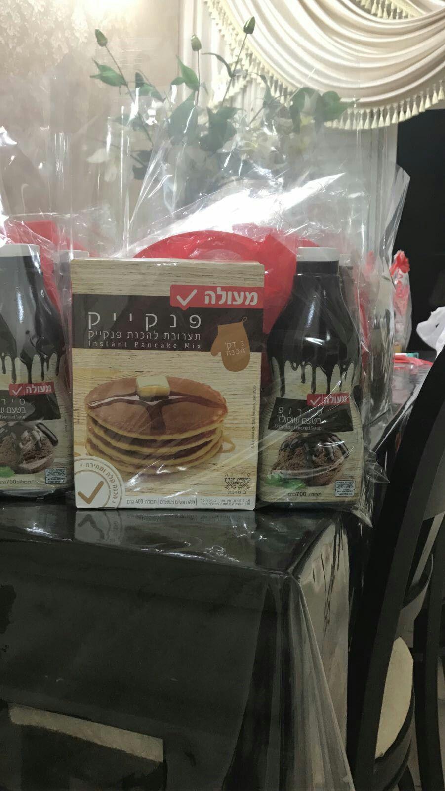 Pin by Dassi on פורים Pancakes mix, Takeout container