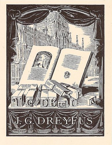 Bookplate by Joan Hassall