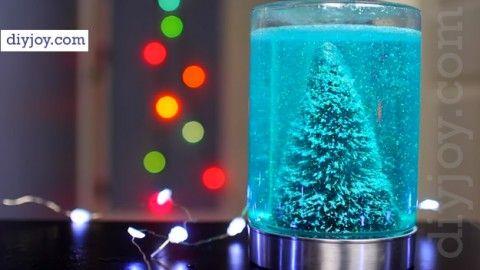 Easy Mason Jar Christmas Craft Idea Mason jar christmas crafts
