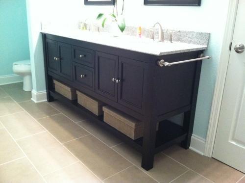 Home Decorators Collection Gazette 72 In W X 22 In D Double Bath Vanity In White With Granite Vanity Top In Rushmore Grey Gawat7222d The Home Depot Granite Vanity Tops Vanity