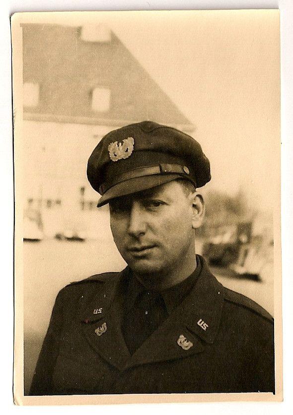 US Army Warrant Officer in Furth, Germany | world war ll