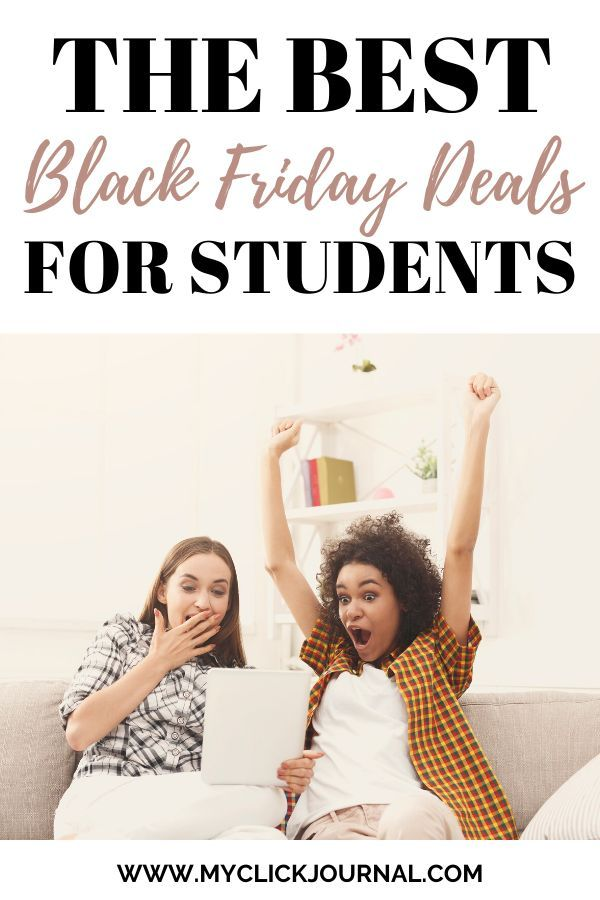 The Best Black Friday Deals for College Students to save money on Black Friday. Save money for christmas and get christmas gifts on a budget, with these amazing black friday deals for students! I also added tips on how to save better and budget your money best. #blackfriday #cybermonday #blackfridaydeals2019