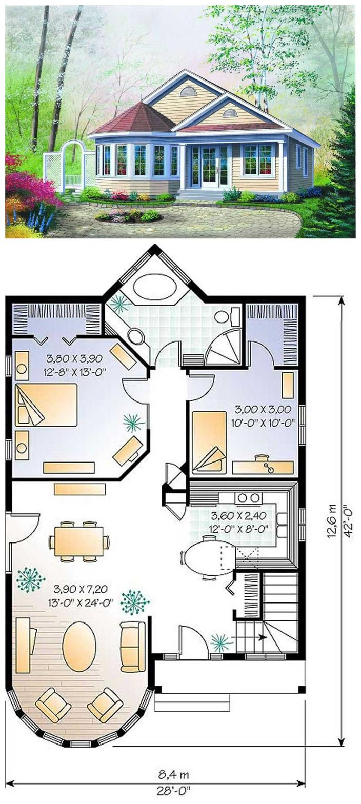 Bungalow Vacation Homes Victorian House Plans Home