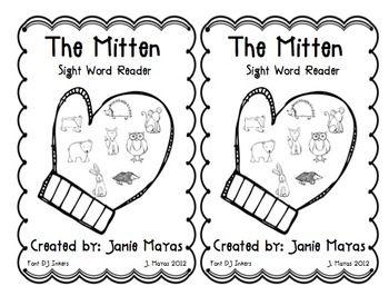 The-Mitten-Emergent-Reader-192270 Teaching Resources - TeachersPayTeachers.com