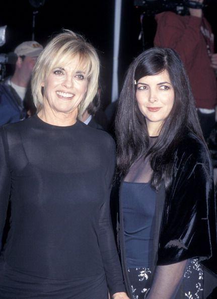 hagman + gray magazines | LINDA GRAY | actress linda gray and daughter kehly sloane attend the ...