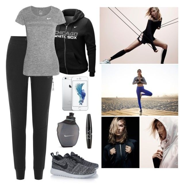 """""""Nike"""" by ray1209 ❤ liked on Polyvore featuring NIKE and NYX"""