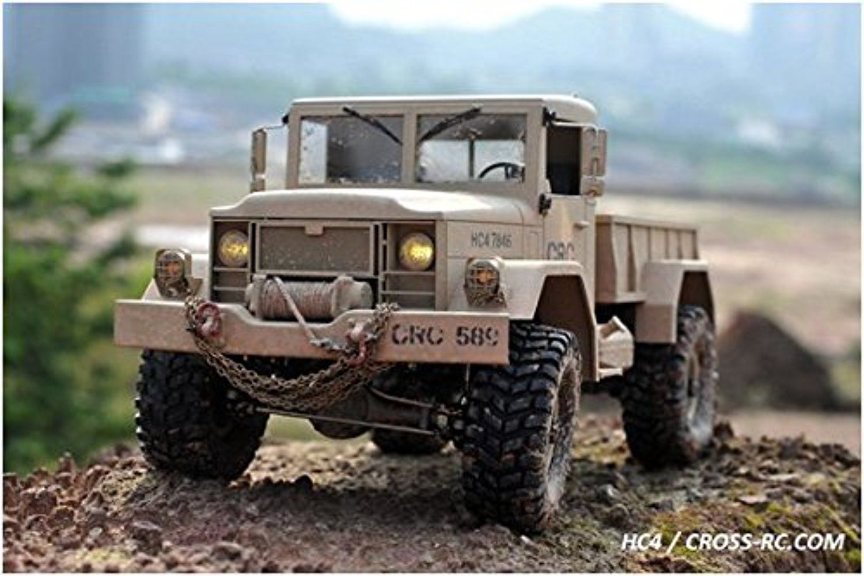 CROSSRC HC4 4WD 1/10 Scale Off Road RC Truck Rock Crawler
