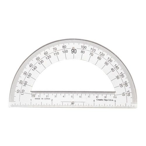 Student Flexible Protractor 144 Clear In A Box Protractor Clear Ruler Flexibility
