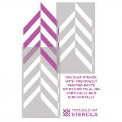 8-HerringBone-Allover-how-to-stencil-instructions $39,95