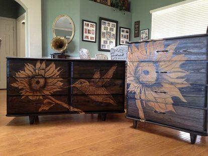 Making An Old Dresser Set New Again Diy Furniture Cheap Diy Furniture