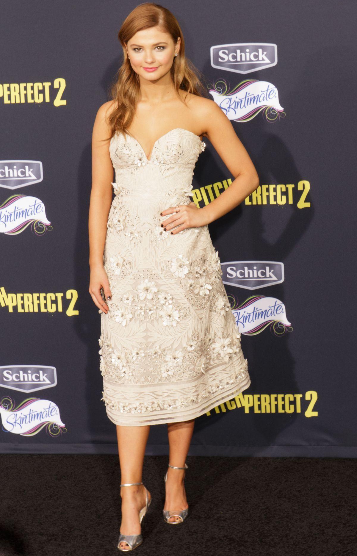 Stefanie Scott 2015 05 08 Pitch Perfect 2 Premiere In Los ...