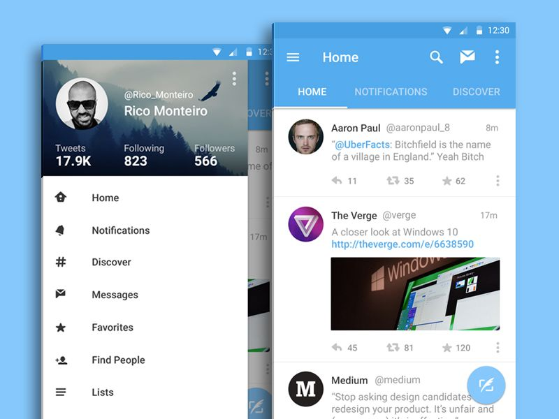 The 15 Best Android Material Design Apps Android Material Design